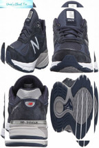 New Balance Men's 990v4 11 X-Wide, Navy - $160.93