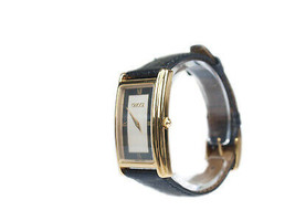 GUCCI 2600M Silver & Black Dial Leather Band Men's Watch GW9588L - $224.25 CAD