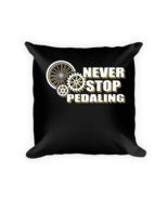 Bicycle pillow - Square Pillow Case w/ stuffing - $23.00