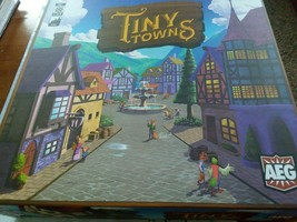 Alderac Entertainment Group Tiny Towns Board Game New in Box Sealed Cards - $33.66