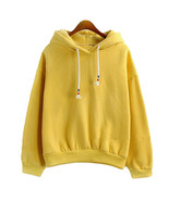 Women Hoodies Sweatshirts New Hot Sale Candy 10 Color Long Sleeved Thick... - $23.58+