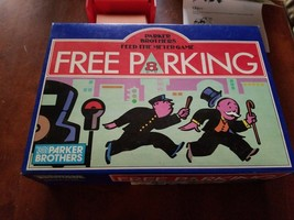 Feed The Meter Free Parking Board Game Parker Brothers Monopoly 1988 Com... - $9.90