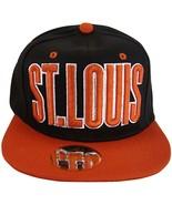 St. Louis Men's Snapback Baseball Cap (Black/Red) - $11.95