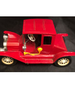 """Vintage Tin Toy Model T Car Made in Japan 9"""" x 5"""" - $32.90"""