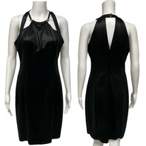 Guess Los Angeles women's black formal shift dress sleeveless size 10 (G... - $24.74