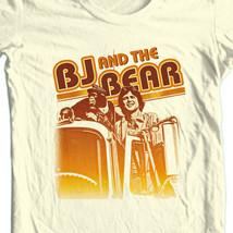 BJ & the Bear T-shirt 1970's retro television show WETV  free shipping NBC281 image 1