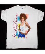 Whitney Houston Vntg 1987 The Moment Of Truth World Tour t-shirt gildan ... - $23.99+