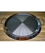 Cuisinart DLC-7PRO Heavy Stainless Steel 1983 Grand Griddle/Some Use Marks/Clean - $49.99