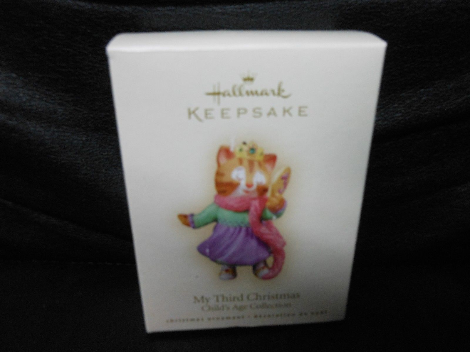 "Hallmark Keepsake ""My Third Christmas - Child's Age"" 2006 Ornament NEW"