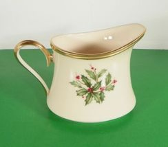 Lenox Dimension HOLIDAY Creamer and Sugar Bowl with Lid Holly Berry image 8