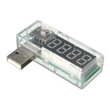 USB Current Tester USB voltmeter USB ammeter Ampere Meter Translucent - £3.28 GBP