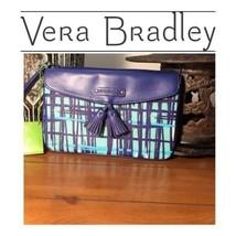 VERA BRADLEY Wristlet NWT with Art Plaid Design - $32.71