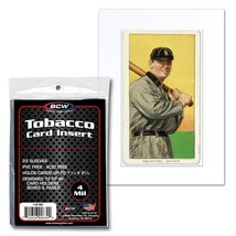 1 Case 1250 BCW TOBACCO CARD INSERT SLEEVE - $40.18