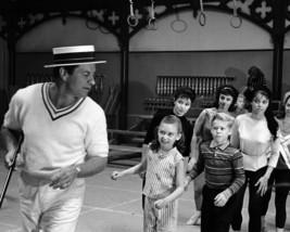 Robert Preston in The Music Man teaching dance to kids 11x14 Photo - $14.99