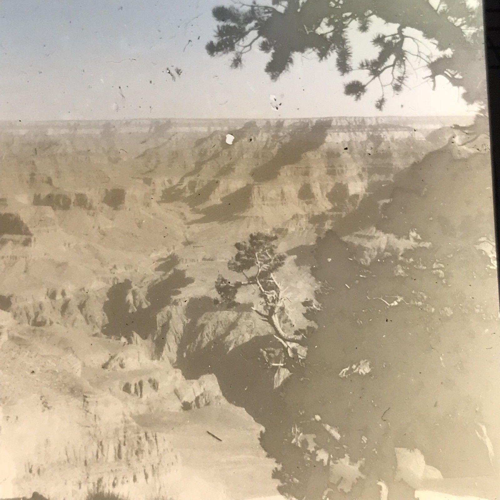 Vtg Magic Lantern Glass Slide Photo Grand Canyon AZ C1930