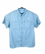 Mens Magellan Outdoor Vented Fishing Shirt Mag Wick Angler Fit XL Fish Gear - $18.39