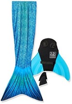 Sun Tails Mermaid Tail + Monofin for Swimming 5- Teen/Adult M JM 8-10, B... - $79.18