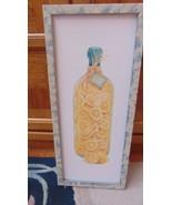 Lemon Picture Framed S.Medler Artist-1997-HoneyLemonVinegar-Jar-Kitchen ... - $1.99