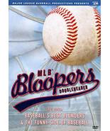 MLB Bloopers Deluxe Doubleheader (DVD 2011) New In Plastic Baseball DVD - $7.99