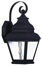 Livex Lighting 20261-04 Exeter Light Outdoor Wall Lantern, Black - $86.91