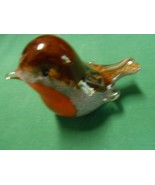 Great LANGHA Glass BIRD Figure-Made England-Signed Paul Miller .FREE POS... - $34.24