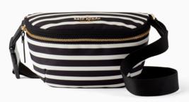 Kate Spade Nylon watson lane betty Belt Bag Fanny Pack Crossbody Stripe ... - $84.65