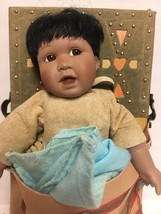 Cloud Chaser Native American Doll Papoose Ashton-Drake Galleries image 4