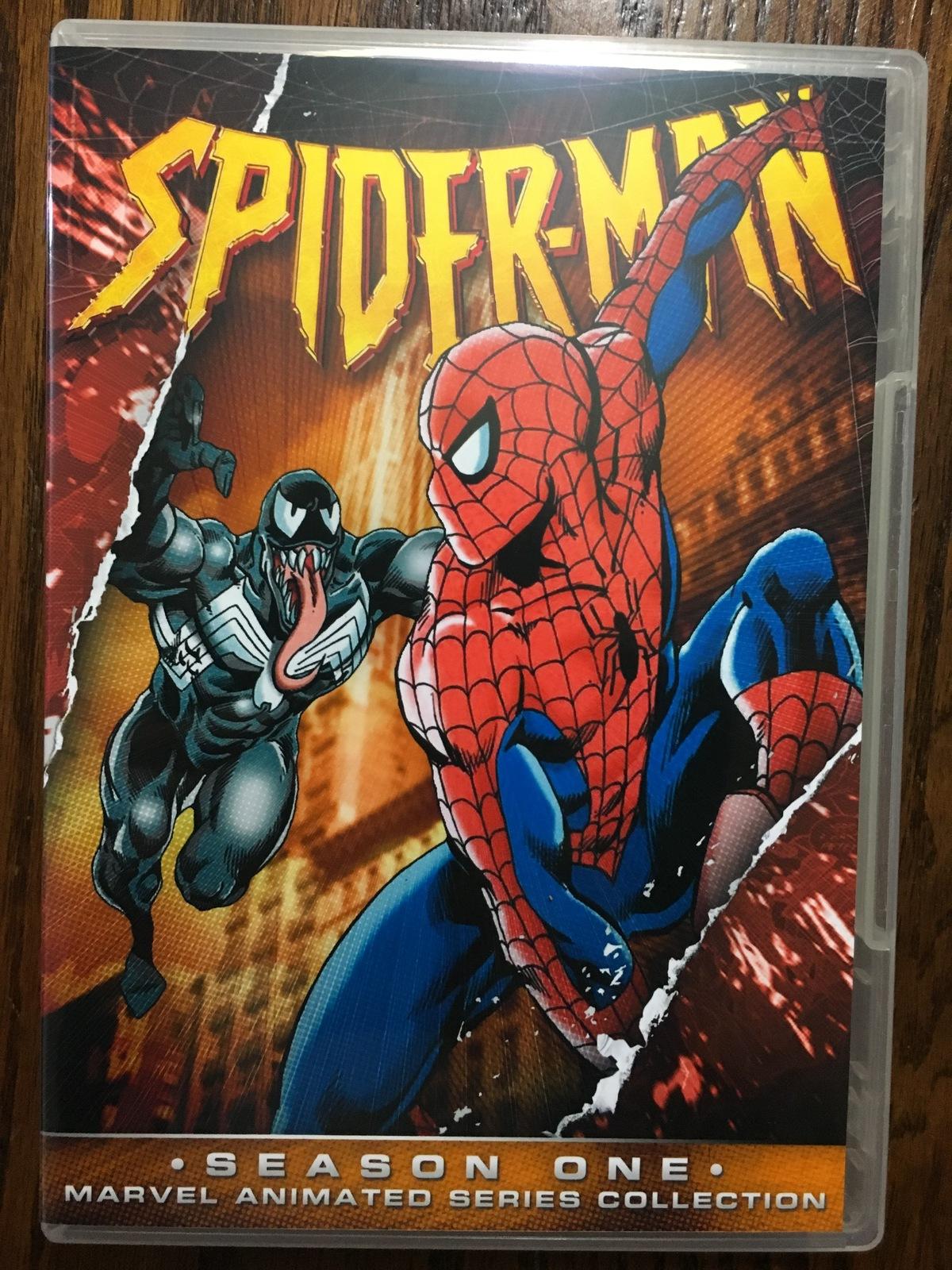 SpiderMan 1994 Series Season 1 DVD
