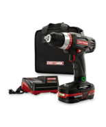 Craftsman C3 19.2 Volt 1/2 Inch Chuck Heavy Duty Drill Kit - $148.49