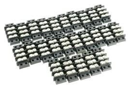 LOT OF 25 NEW TRW / CINCH 3-140 TERMINAL BLOCKS 3-POSITION DOUBLE ROW 3140