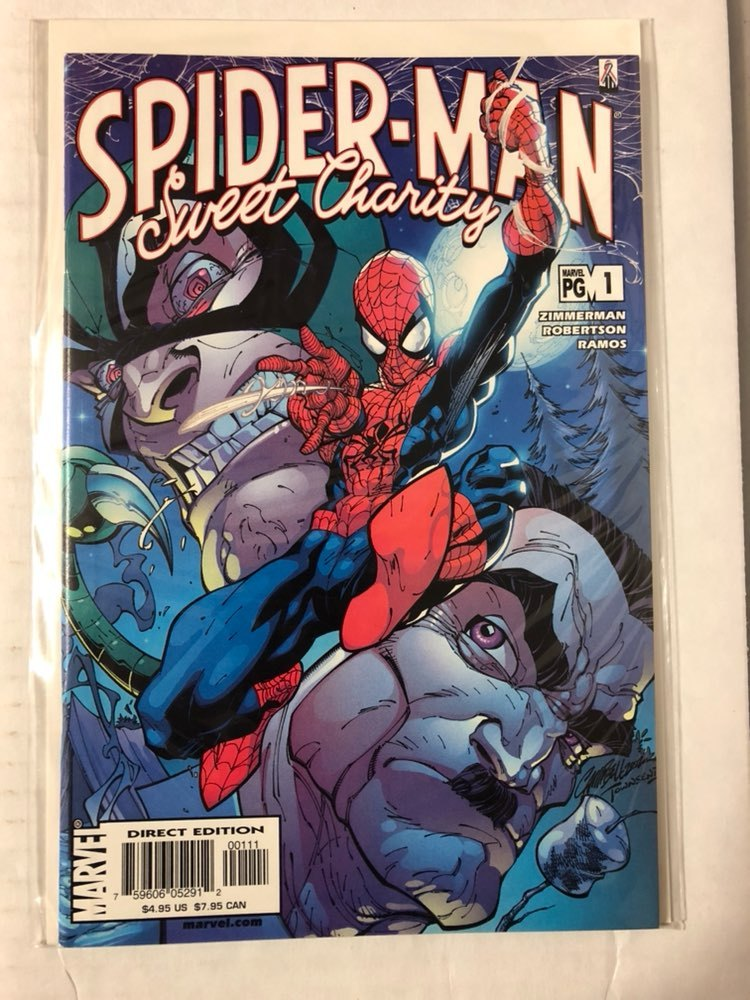 Spider-Man Sweet Charity #1