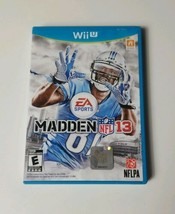 Madden NFL 13 2012 EA Sports Nintendo Wii U Game  - $12.64