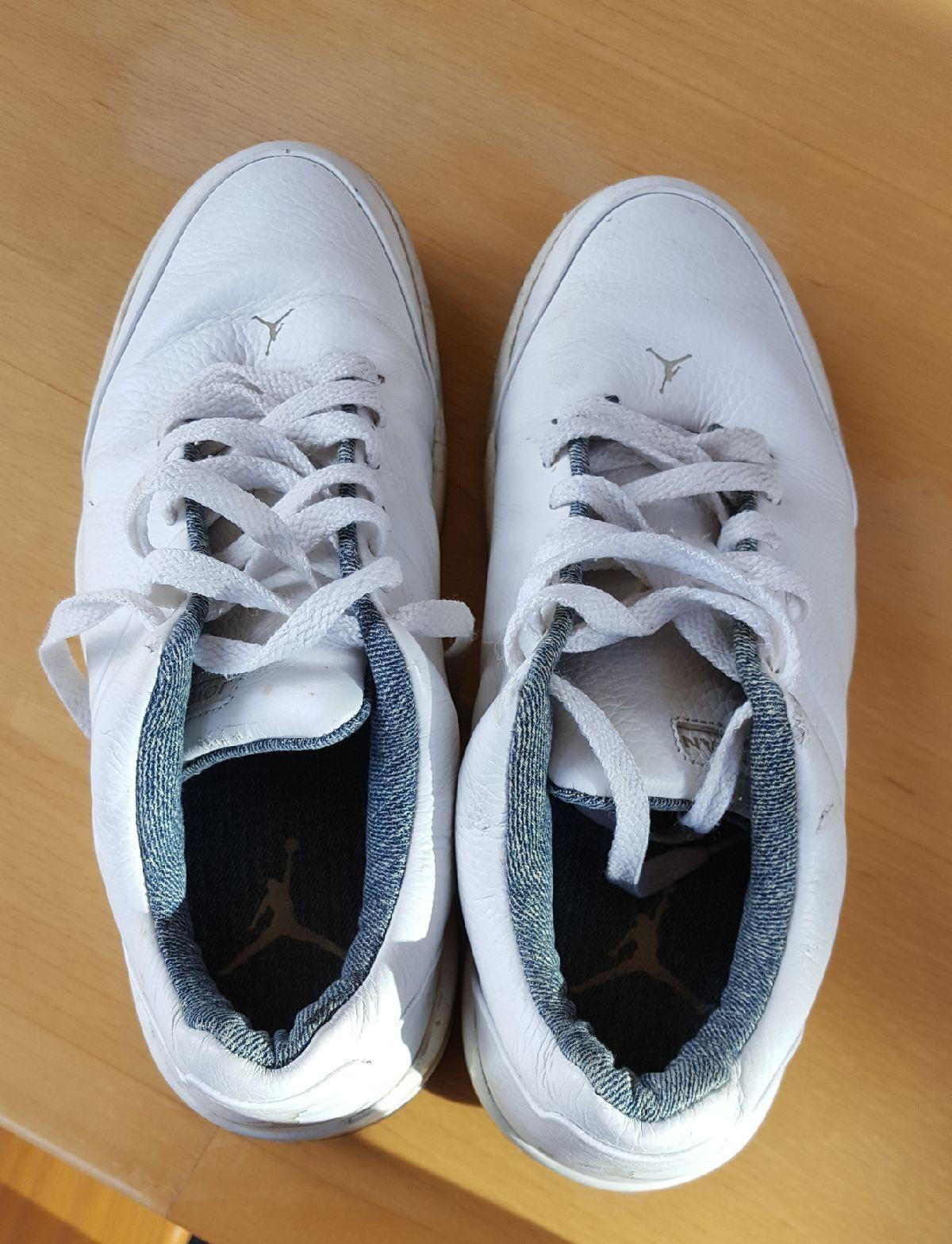 25a8aef1e6e1b1 2006 Mens N ke Air Jordan 23 Classic White Leather Shoes Size 8.5 313480-