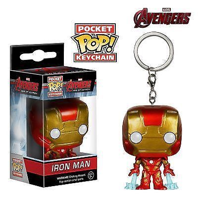 Funko Pop Game of Thornes, Deadpool, Iron Man, Spider Man Pvc KEYCHAIN