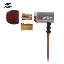 KZ® ED9 Super Bowl Tuning Nozzles Earphone In Ear Monitors HiFi Earbuds ... - $16.11+