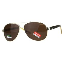 Real Bamboo Wood Temple Sunglasses Oval Aviator Unisex Shades UV 400 - $12.55