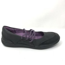 Orthaheel Womens Size 6.5 Melanie Mary Jane Flats Black Leather Slip On ... - $37.39