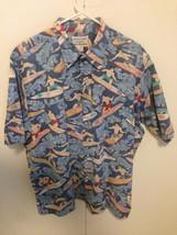 Reyn Spooner  by Dietrich Varez Hawaiian  Aloha Men Shirt  Size Large ex... - $38.61