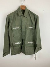 Holiday Army Field Jacket S Green Long Sleeve Protect Everything Under T... - $49.49
