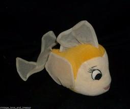 "6"" DISNEY PINOCCHIO YELLOW GIRL FISH CLEO STUFFED ANIMAL PLUSH TOY SOFT ... - $23.38"