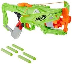 Nerf Zombie Strike Outbreaker Bow Single Action Crossbow Toy Gun Foam Da... - $47.92