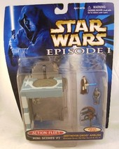 Star Wars Episode I Action Fleet Mini Scenes #2 Destroyer Droid Ambush - $22.28