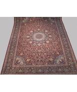 Handmade Rug 9 x 12 Burgundy Sheik Safi Persian Design Jaipur Traditiona... - $1,426.42