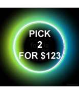 MON-TUES PICK 2  FOR $123 DOES NOT INCLUDE NO DEALS & MYSTICAL TREASURES - $0.00