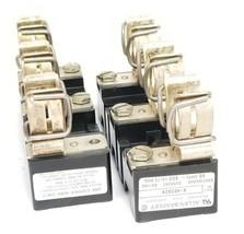 LOT OF 2 ALLEN BRADLEY X-402028 FUSE BLOCK HOLDERS 60A, 600V, X402028