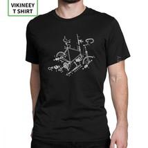 Men T Shirt Bike T-Shirt Addict MTB Mountain Biker Cycling Hipster Short Sleeve  - $32.62