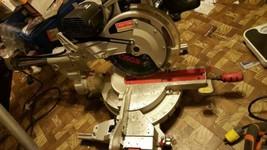 12 inch Craftsman compound miter laser saw little to no run time - $307.62