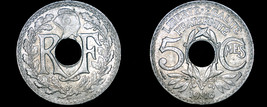 1918 French 5 Centimes World Coin - France - $12.99