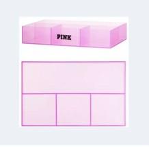 Victoria's Secret Pink Beauty Vanity Makeup Organizer Plastic Pink Tray NEW - $34.60