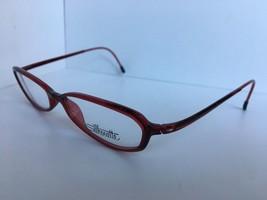 New Super Light Stylish Silhouette SPX 1992 10 6080 50mm Burgundy Eyeglasses - $64.99